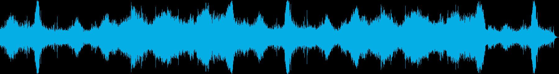 ヘビーウォーターランブル、時々ウォ...の再生済みの波形