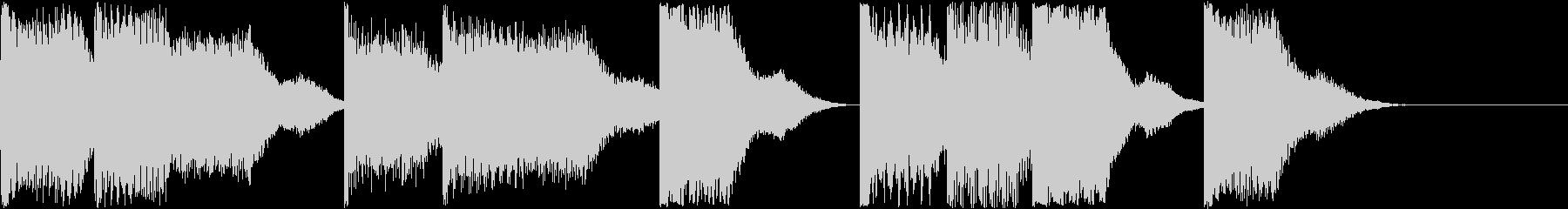 AI メカ/ロボ/マシン動作音 6の未再生の波形