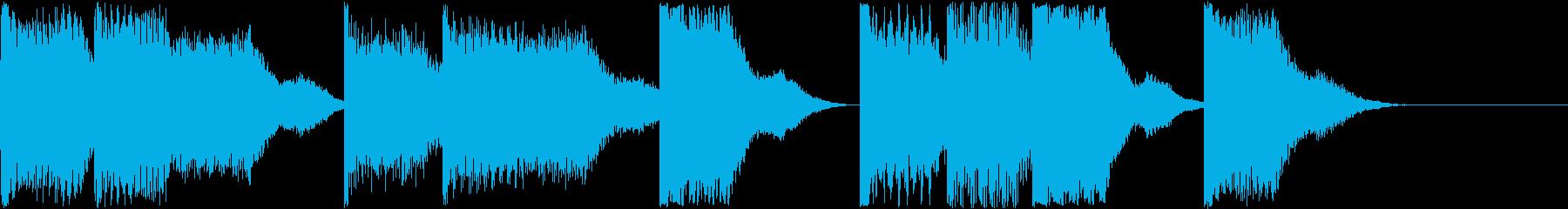 AI メカ/ロボ/マシン動作音 6の再生済みの波形