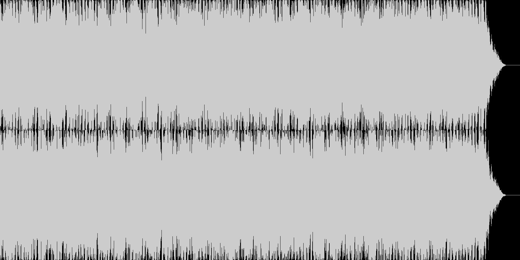 レトロゲームの宇宙空間をイメージした楽…の未再生の波形