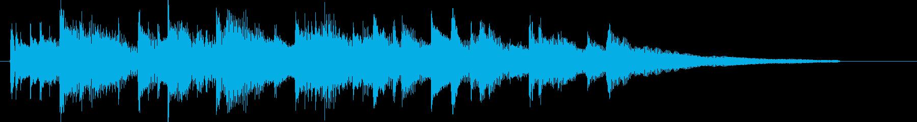 アコギ、明るい、感動、日常、CM15秒1の再生済みの波形