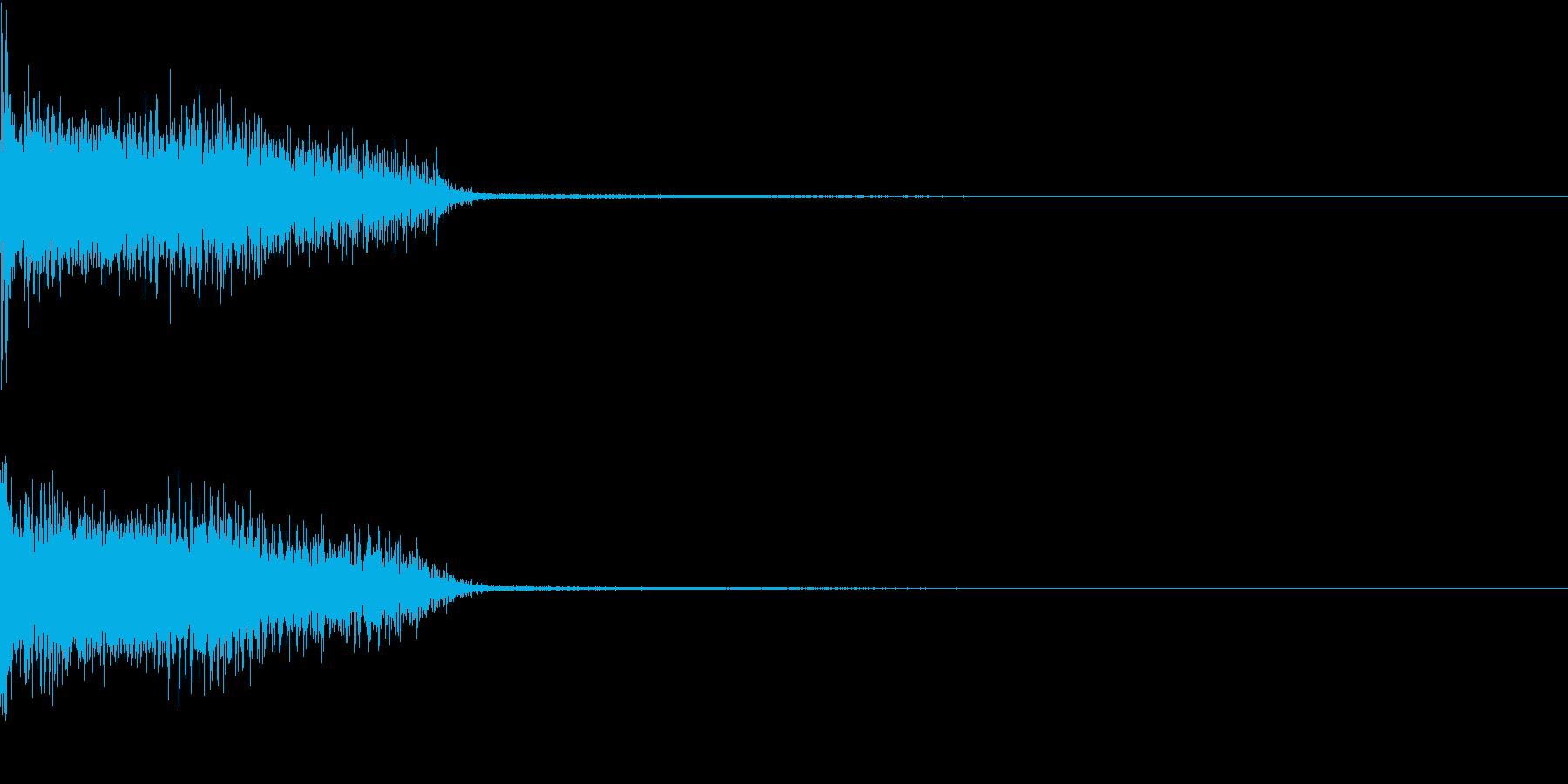 InvaderBuzz 発砲音 14の再生済みの波形