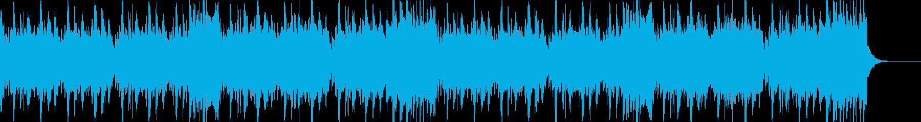 幻想的なフューチャーベースのジングルの再生済みの波形