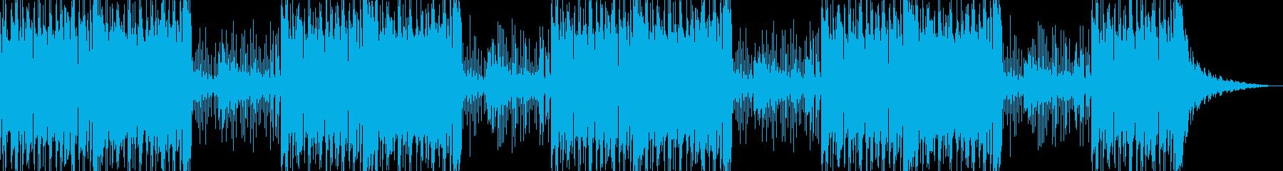 和風・お正月・琴・尺八・和太鼓・神楽鈴の再生済みの波形
