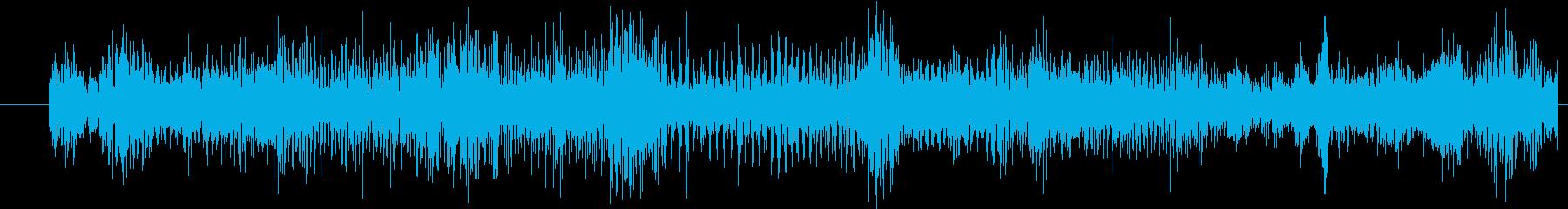 イメージ ボーカルグリッチ01の再生済みの波形