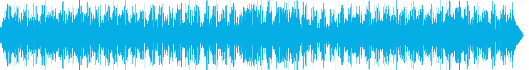 ポカポカ陽気でほのぼの楽しい日常系の再生済みの波形