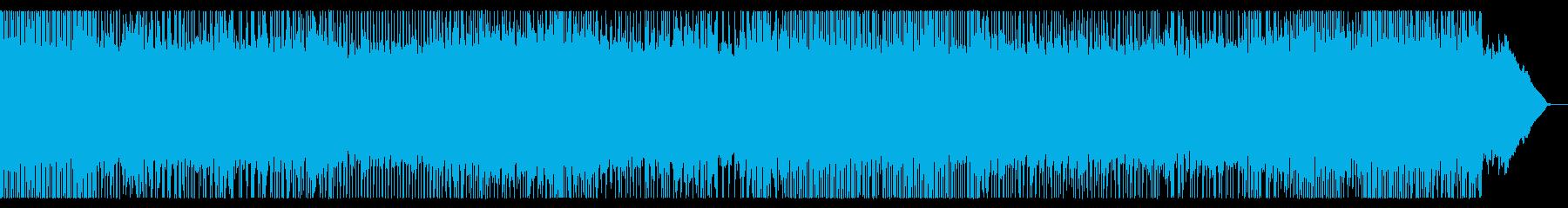 攻撃的な全編速弾きスピードメタルチューンの再生済みの波形