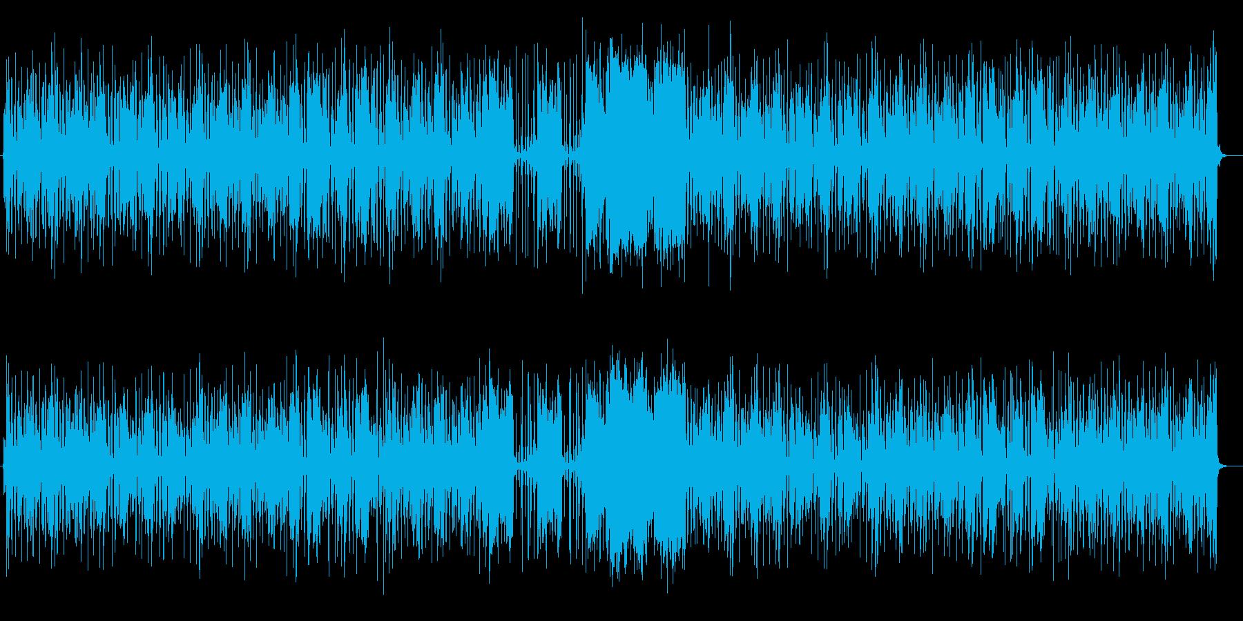 ポップな童謡風リラクゼーション音楽の再生済みの波形