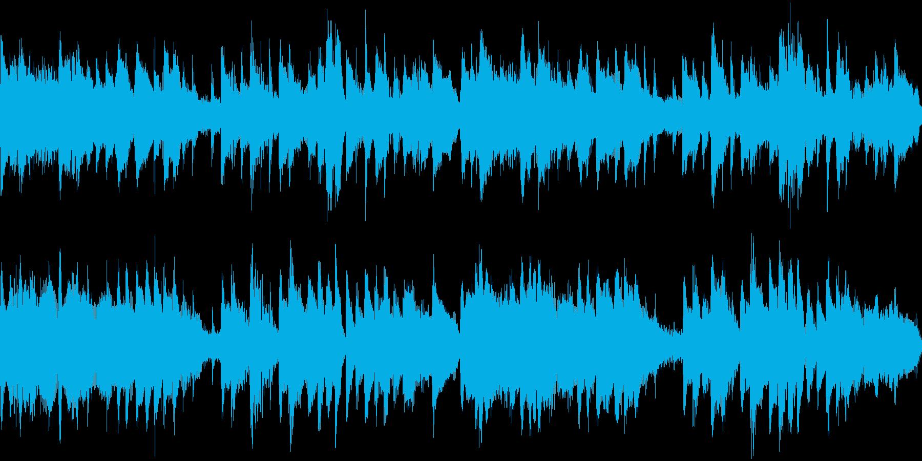 落ち着いたピアノ童謡アレンジの再生済みの波形