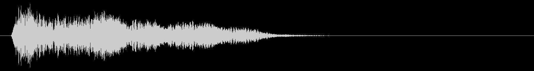 ロングテールのドラマチックなメタリ...の未再生の波形