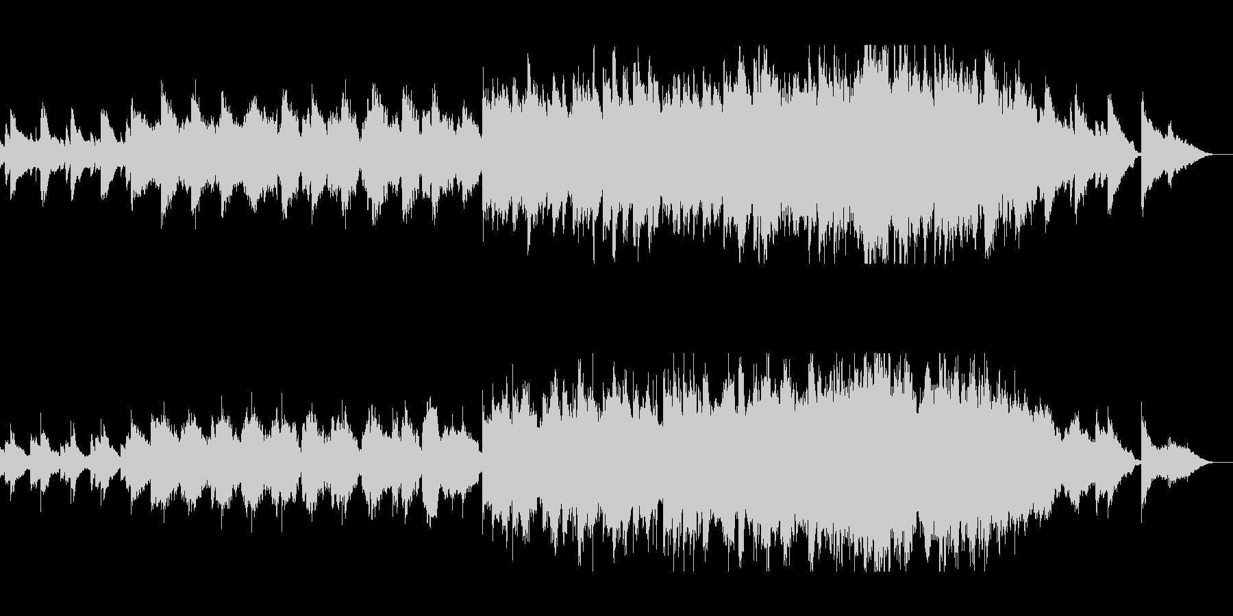 琴の音色が日本的なシンセミュージックの未再生の波形
