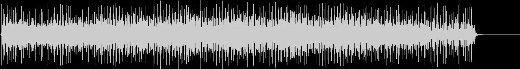 【CM・ニュース】テクノBGM3の未再生の波形