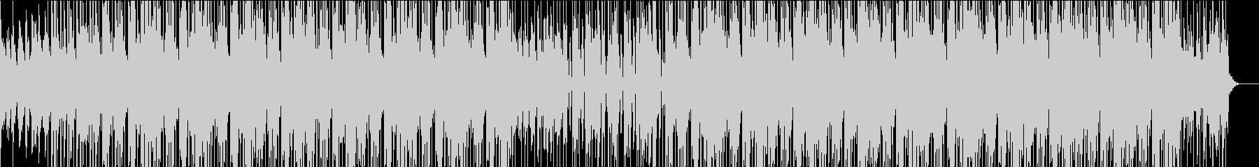 オシャレなシーンで使える雰囲気作りBGMの未再生の波形