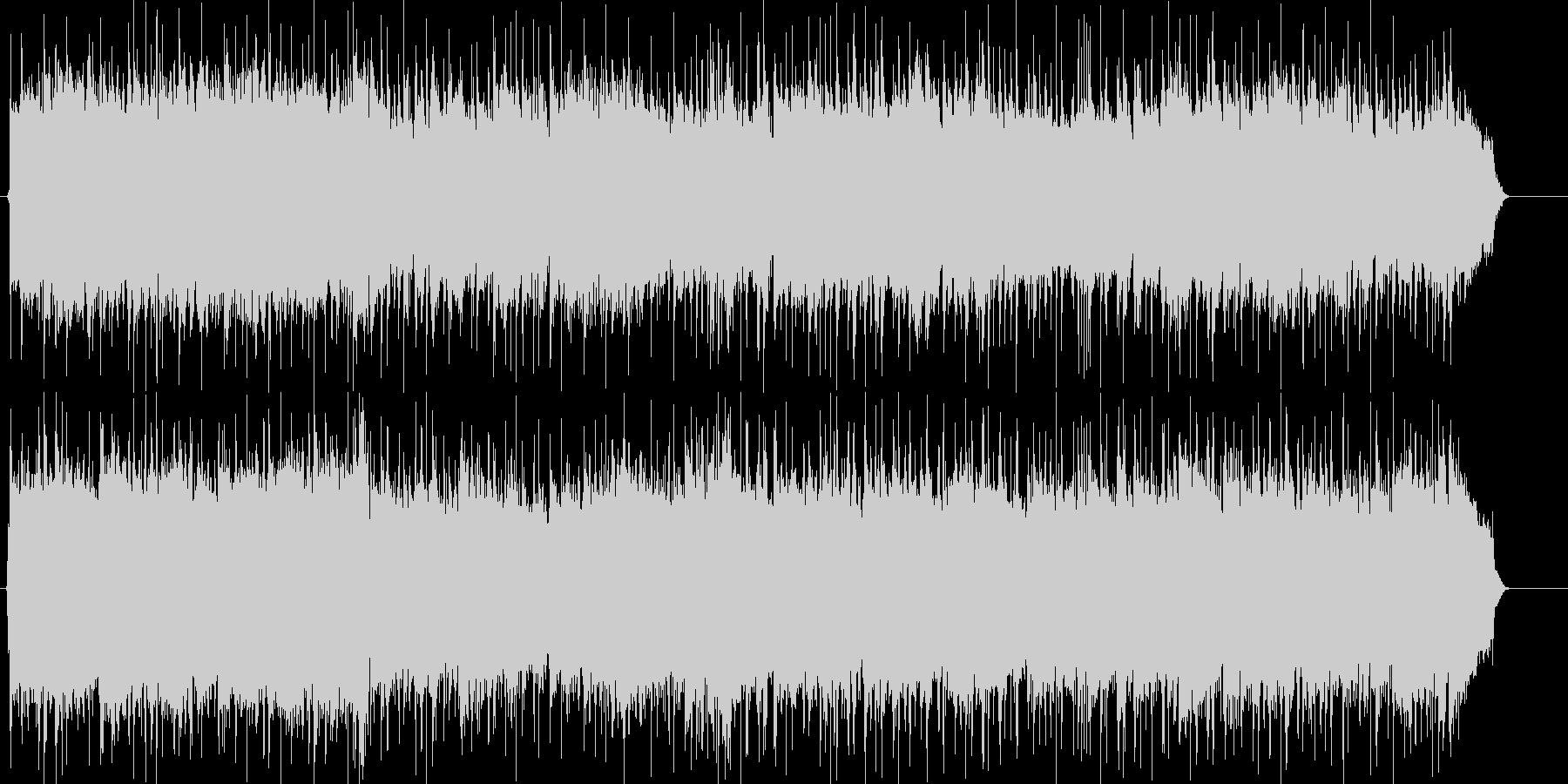 ギターメインの元気なポップロックの未再生の波形