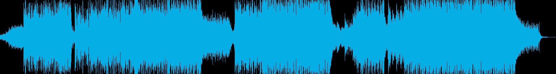 闇→光・爽快で感動的に展開 エレキ有A+の再生済みの波形