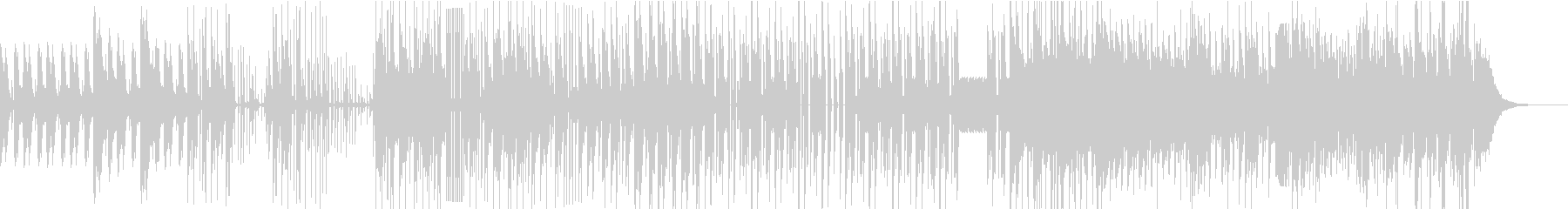 低音が効いたChill Mixの未再生の波形