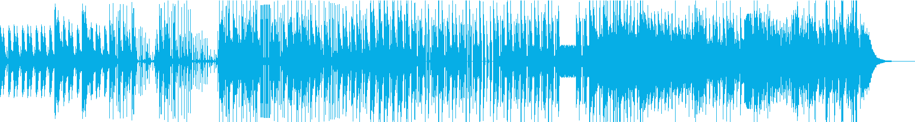 低音が効いたChill Mixの再生済みの波形