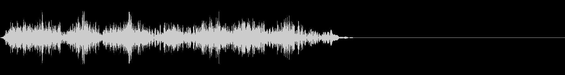 DJスクラッチ10_ワンショット05の未再生の波形