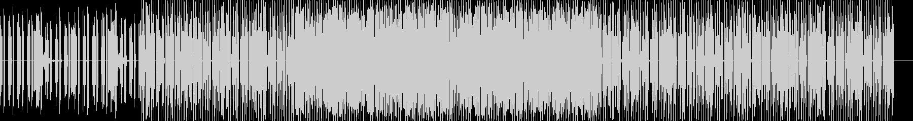 企業VR 科学 CM クイズ系 テクノの未再生の波形