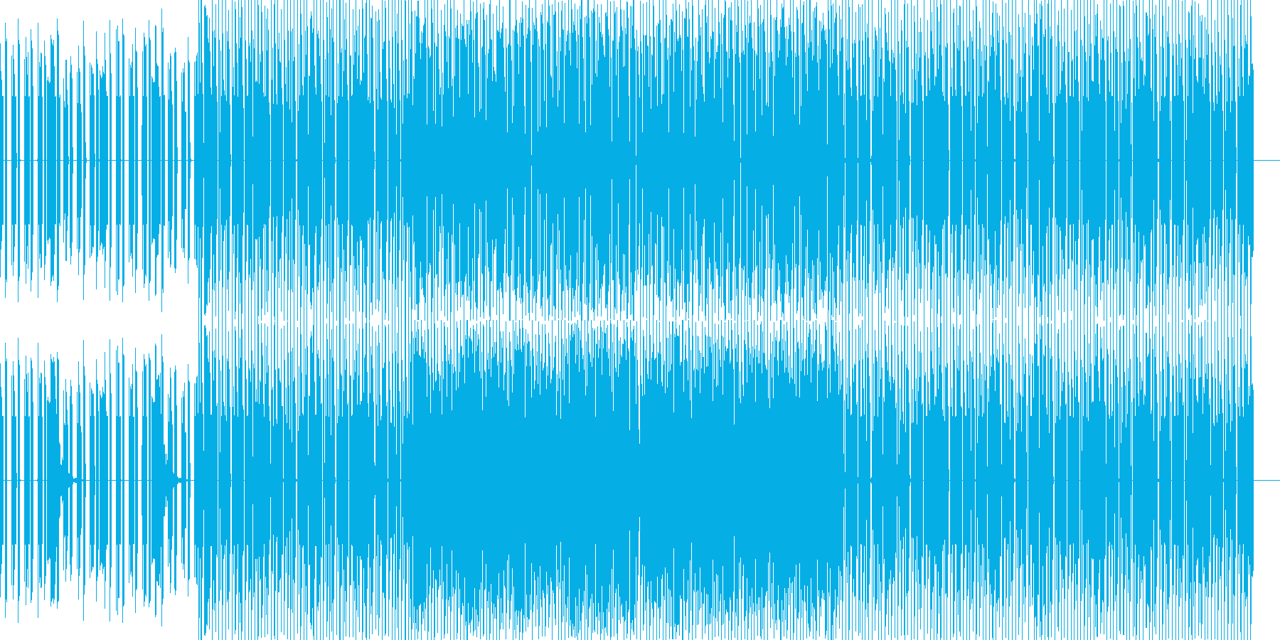 企業VR 科学 CM クイズ系 テクノの再生済みの波形