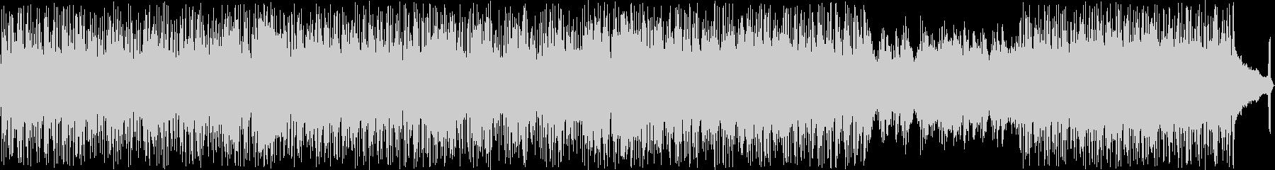 攻撃的なヴォーカルのパンクロックの未再生の波形