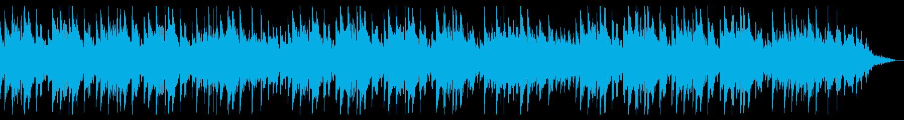 夜にしっとりとしたバラード アコギの再生済みの波形