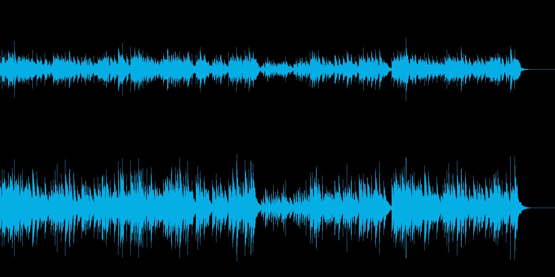 可愛らしいオルゴール曲/赤ちゃん子守唄の再生済みの波形