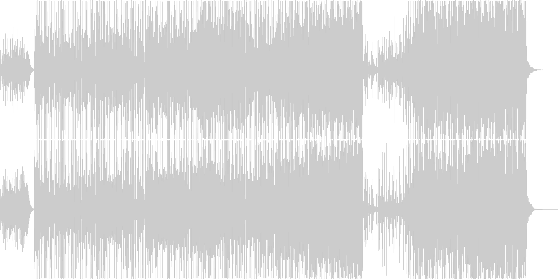 Forest Orbの未再生の波形