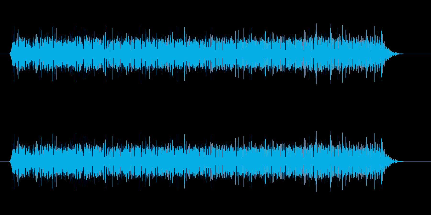 監視カメラが動作する時の音です。の再生済みの波形