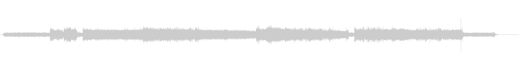 シャープナー-電気-楽器の未再生の波形