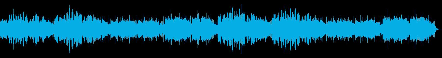 弦楽と木管の穏やかな間奏曲の再生済みの波形