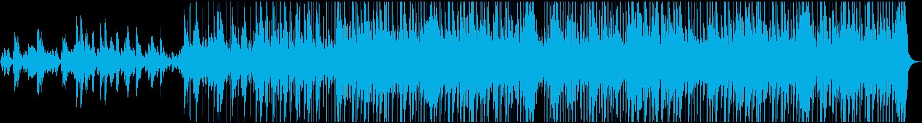 代替案 ポップ ロック アクティブ...の再生済みの波形