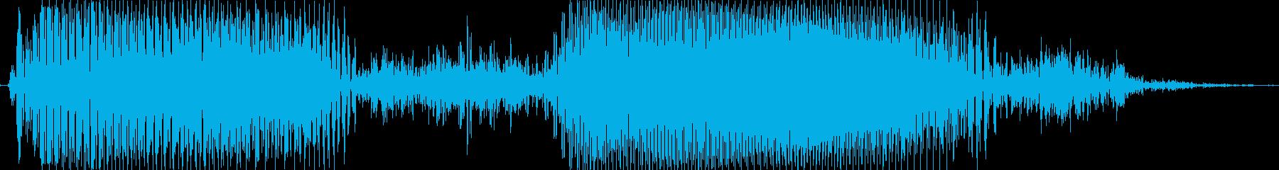 押せ!の再生済みの波形
