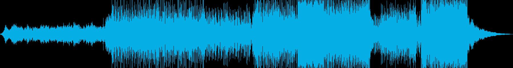 琴・三味線・演歌調ポップ&ロック +の再生済みの波形