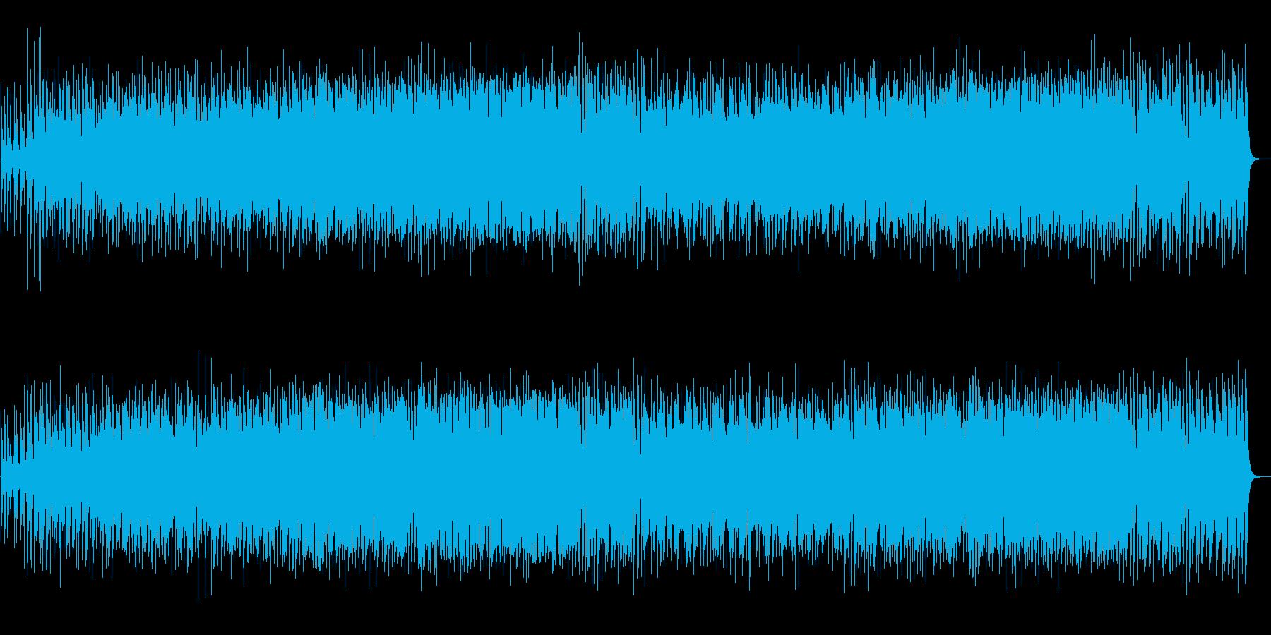 尺八!日本的で和風!陽気でハッピー!音頭の再生済みの波形