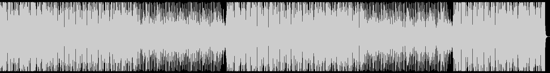 明るくコミカル→不穏BreakBeatsの未再生の波形