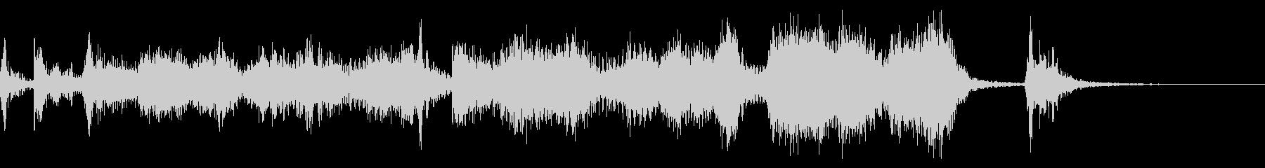 6秒広告用の華やかなビッグバンドジャズの未再生の波形