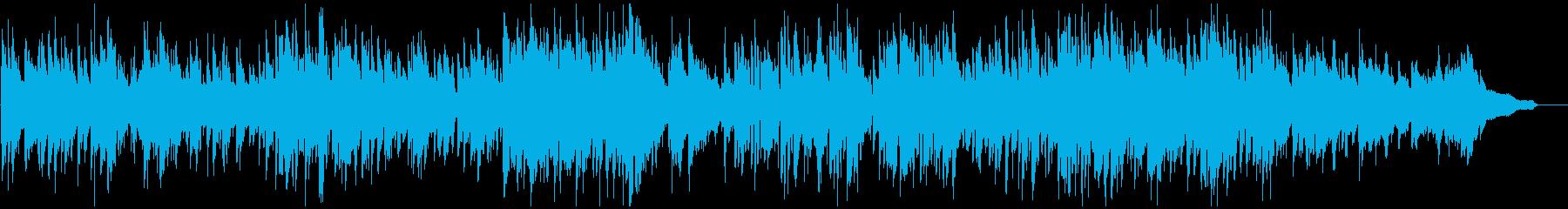 クールでかっこいい系のボサノバ・ジャズの再生済みの波形