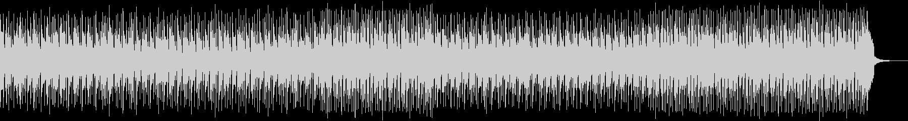 アコースティックギターメインのポップスの未再生の波形
