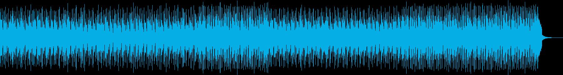 アコースティックギターメインのポップスの再生済みの波形