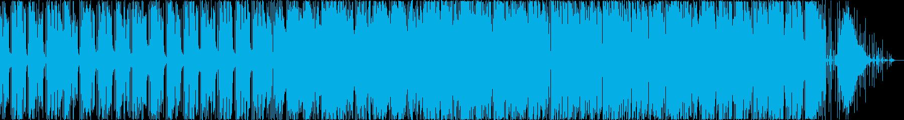 軽快でお洒落なスムースジャズの再生済みの波形