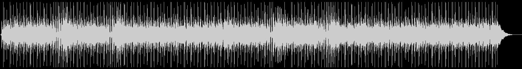 オールディーズ風のアップテンポなナンバーの未再生の波形