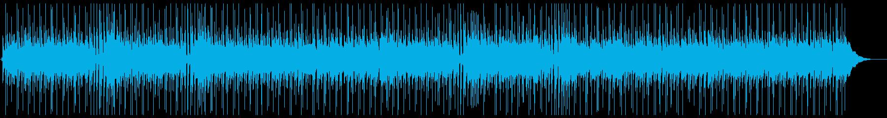 オールディーズ風のアップテンポなナンバーの再生済みの波形