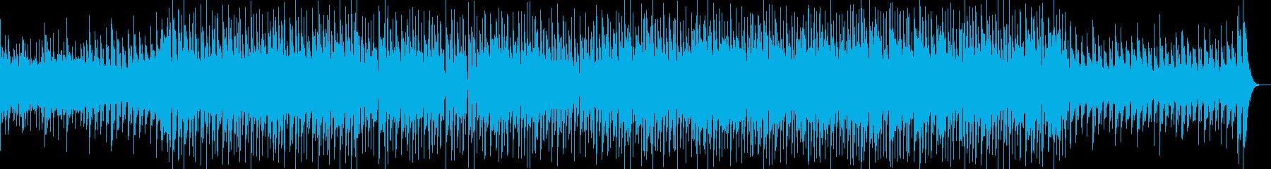 ちょっとポップでちょっと切ないBGMの再生済みの波形