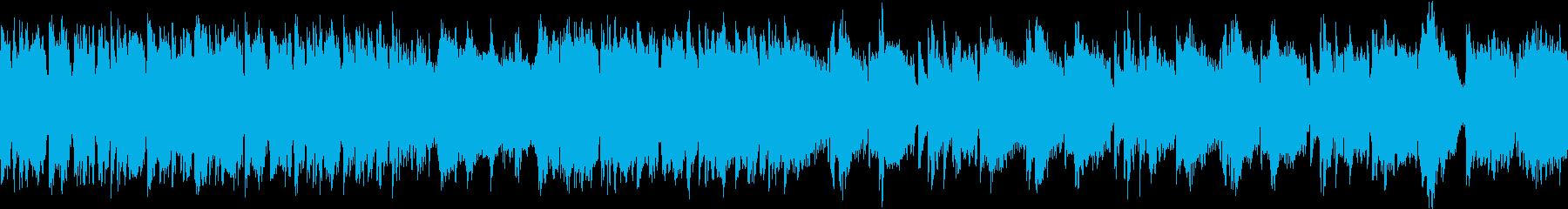 おだやか/琴/尺八/静かめ/ループの再生済みの波形