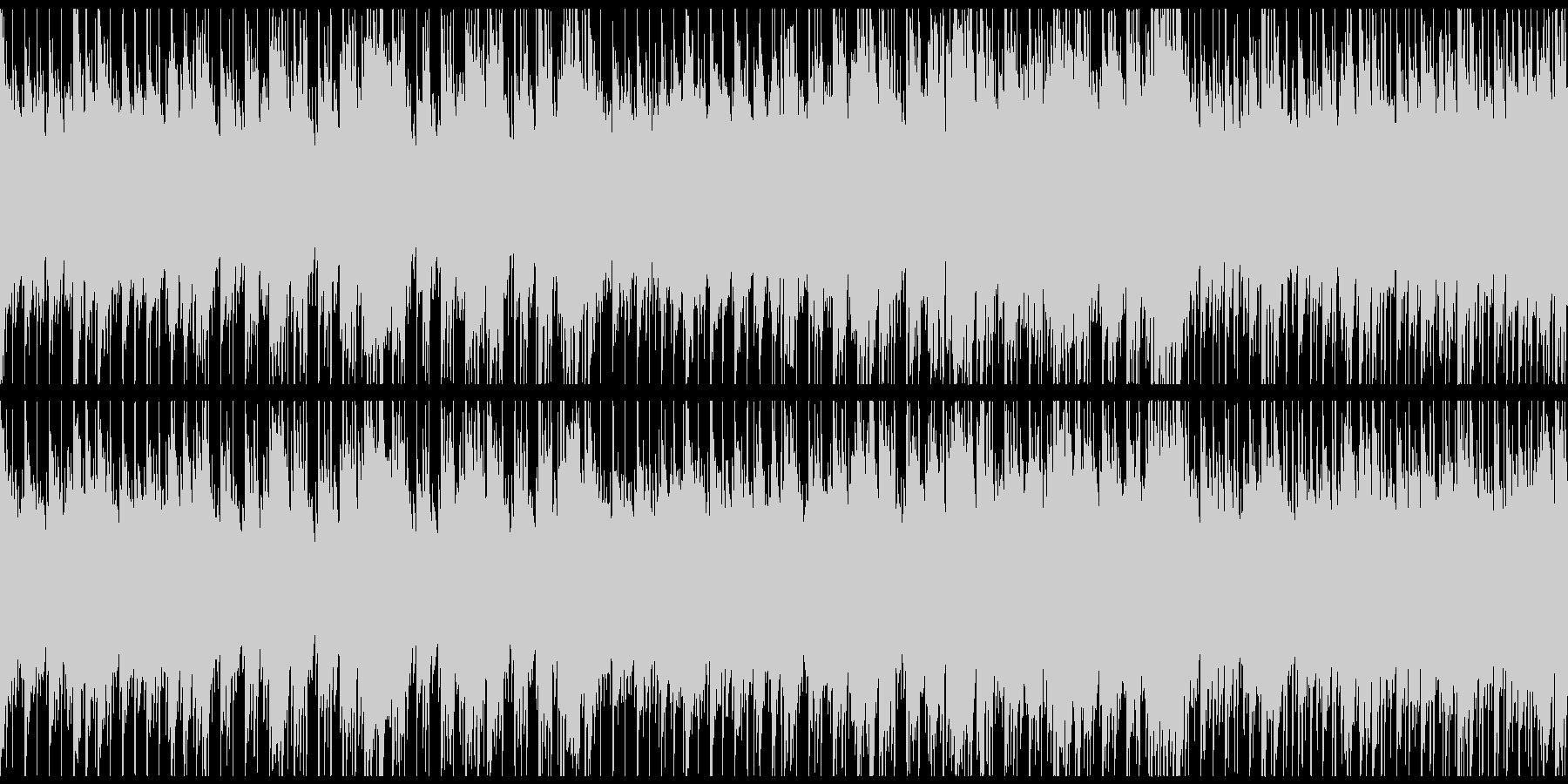 哀愁・どこか物悲しいイメージのBGMの未再生の波形
