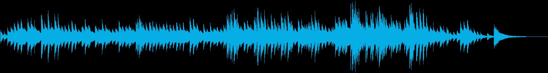 深海の中で奏でられるピアノの再生済みの波形