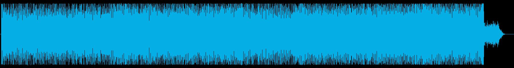 ダークで不気味なエレクトロ 劇伴、ゲームの再生済みの波形