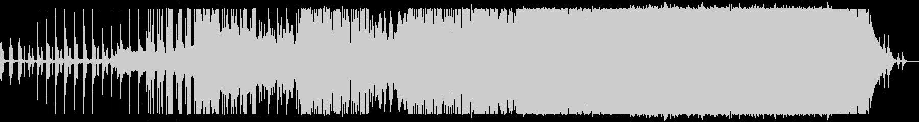 落ち着いたテンポの電子音楽。の未再生の波形