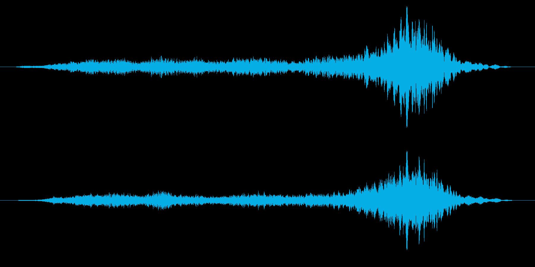 ミステリー、ホラー向き楽曲。緊張感が増…の再生済みの波形